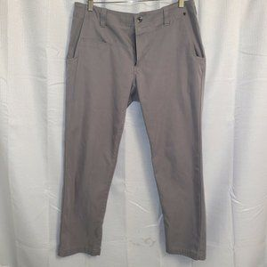 5.11 Tactical Gray Pocketed Cargo Pants Mens 34